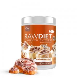 RawDiet Cinnamon roll