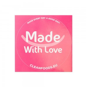 Cleanfoods Seal Sticker