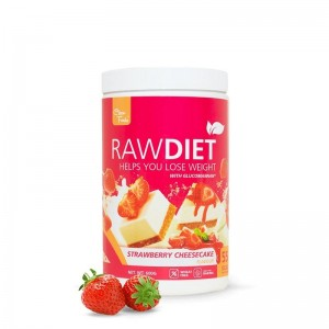 RawDiet Strawberry Cheescake